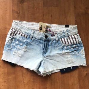 Flag shorts! 🇺🇸